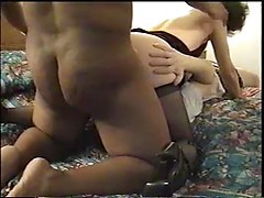 Mind blowing cuckolding fuck with horny wife taking BBC